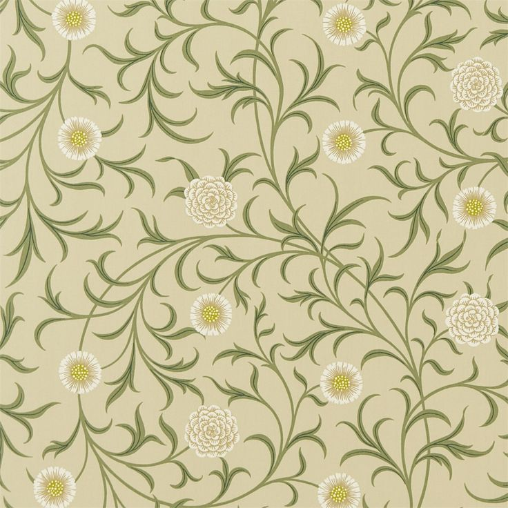 The Original Morris & Co - Arts and crafts, fabrics and wallpaper designs by William Morris & Company | Products | British/UK Fabrics and Wallpapers | Scroll (DM6F220308) | Archive Prints