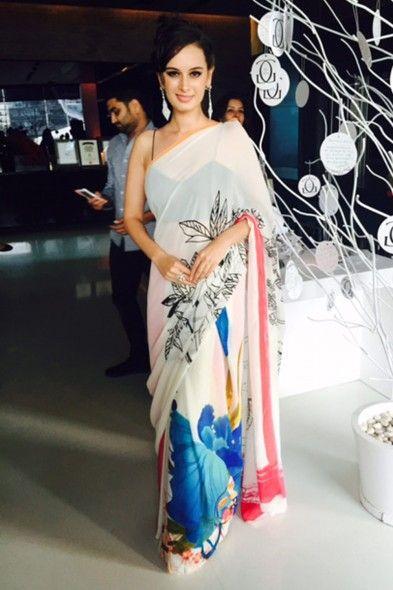Line Art Printed Saree 60% Off -  Satya Paul