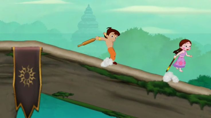 Chhota Bheem Games Hindi Race Game Celebrate the Festival of Colors Game...