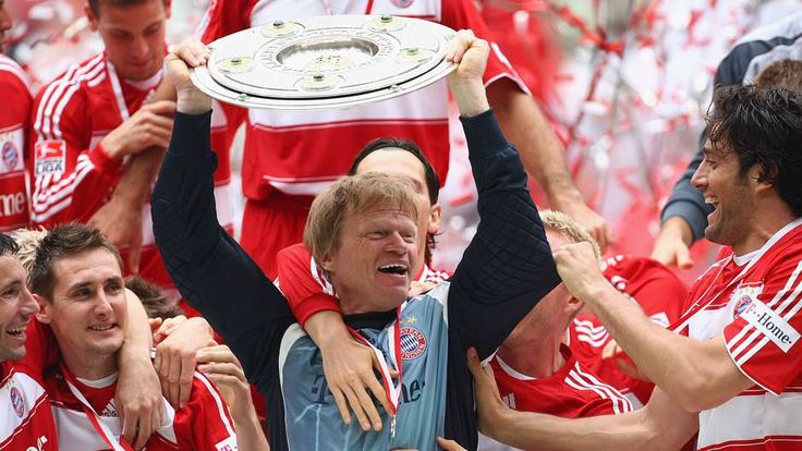 3. OLIVER KAHN | 1994 - 2008 | The titanic goalkeeper won the Bundesliga title eight times and also claimed six DFB-Pokal titles plus the Champions League in 2001. A four-time winner of Uefa's Best Goalkeeper award.  - Goal.com