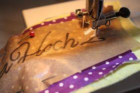 Mamahoch2: Sticken mit der Nähmaschine, aber nun richtig!