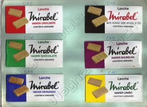 "Biscoitos Wafers ""Mirabel"""