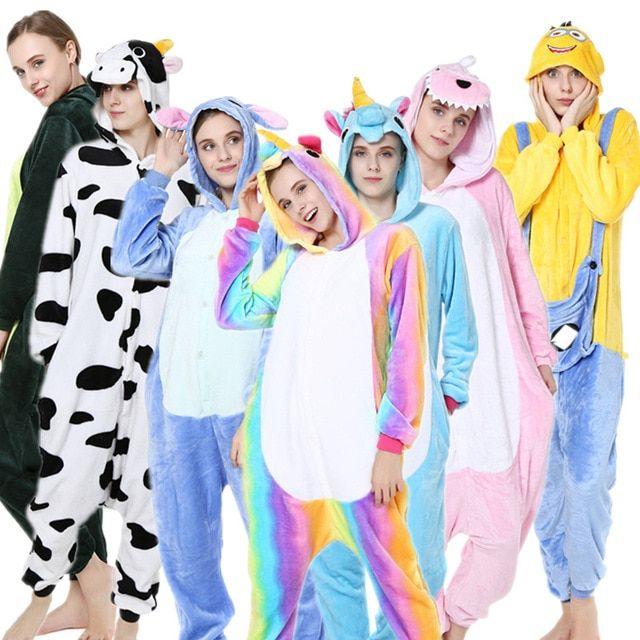 LADIES GIRLS  ANIMAL ZEBRA PRINT  ALL IN ONE ONSIE  JUMPSUIT  HOODED