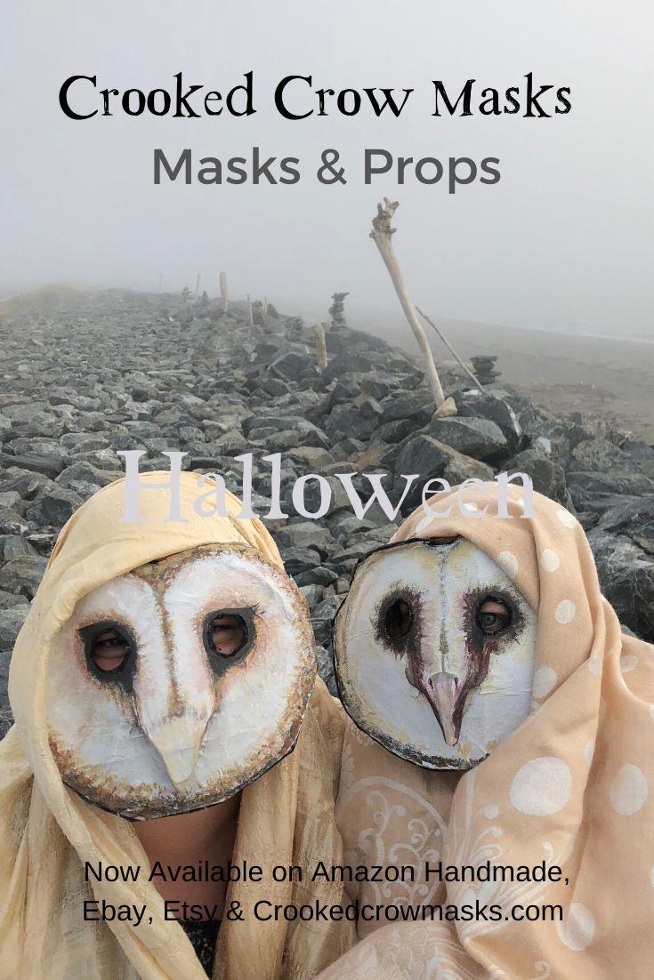 Creepy Scary Masks and Props Halloween, Mardi Gras