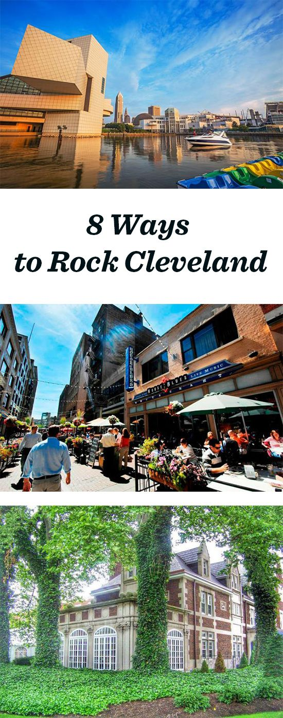 Cleveland rocks! 8 ways to have fun this spring: http://www.midwestliving.com/blog/travel/8-ways-to-rock-cleveland-this-spring/ #cleveland #ohio #travel #rockhall2015