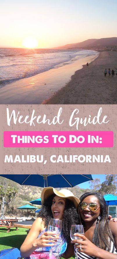 Weekend in Malibu, California