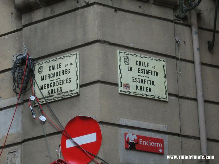 Ruta del Mate: Pamplona, España. La fiesta de los Sanfermines.