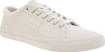 Fred Perry White Kendrick Tipp Leather Mens Arriving in fresh triple-white, the legendary Kendrick Tipp Leather arrives on the scene. The lightweight sporty profile remains at the core of the Fred Perry footwear range, with clean line detail an http://www.comparestoreprices.co.uk/january-2017-8/fred-perry-white-kendrick-tipp-leather-mens.asp