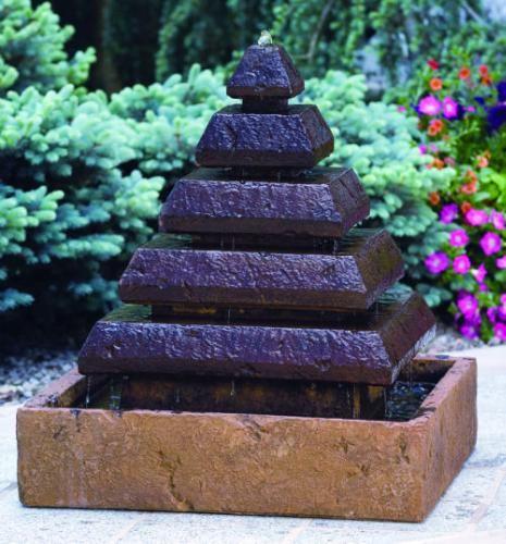 Cleopatra Falls Pyramid Garden Fountain Egyptian Theme