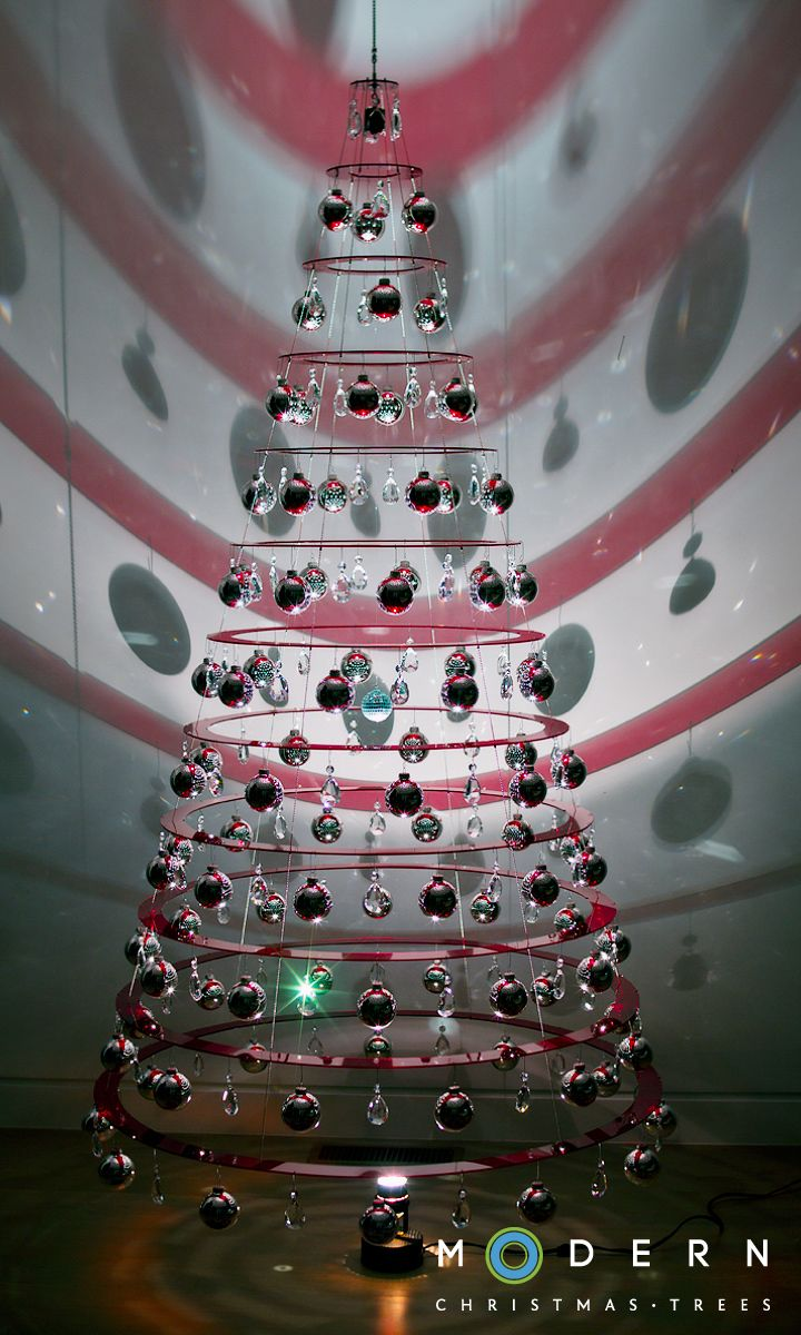 Non traditional christmas tree ideas - Find This Pin And More On Christmas Nontraditional Trees