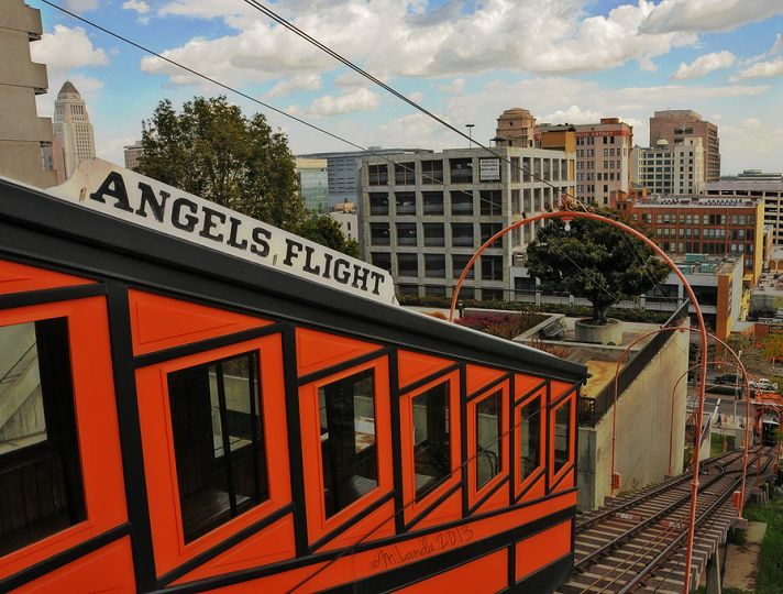 Angels Flight Railway   Discover Los Angeles   Downtown Los Angeles