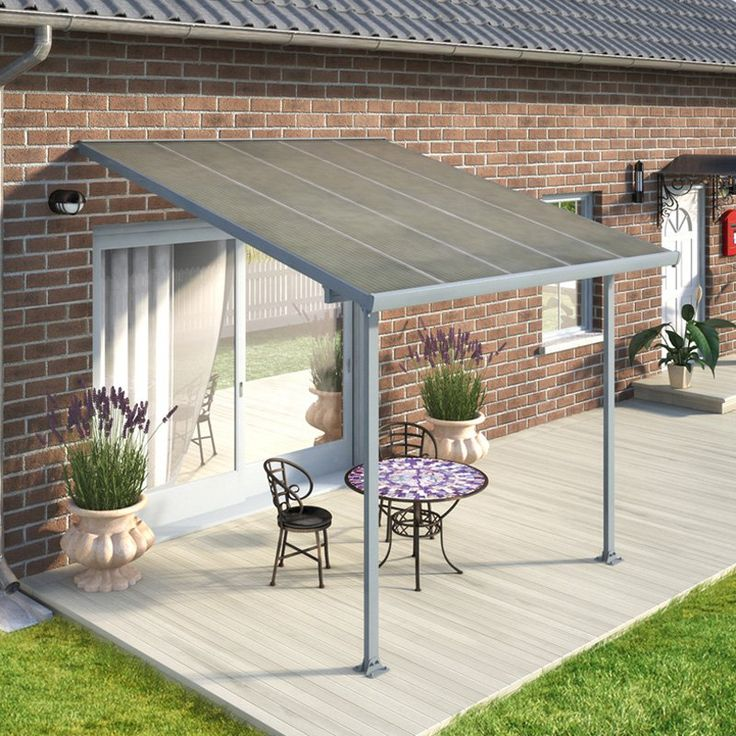 Attractive Palram Feria Patio Cover   Add A Stylish And Functional Addition To Your  Patio With The Palram Feria Patio Cover. This Cover Is Made With A  Galvanized Steel ...