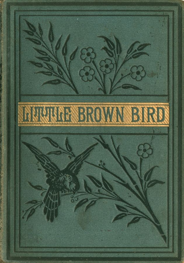 'Little Brown Bird'. Published by Blackie & Son; London, ca. 1882.