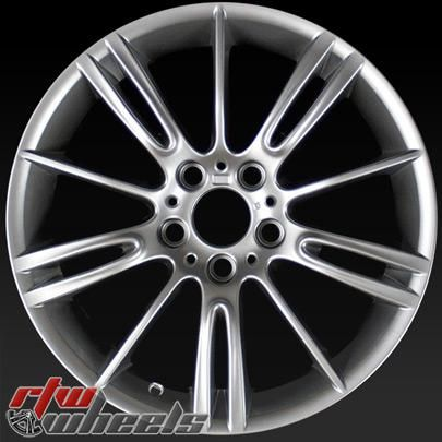 "BMW 3 Series oem wheels for sale 2006-2013. 18"" Grey rims 59590 - http://www.rtwwheels.com/store/shop/bmw-3-series-oem-wheels-for-sale-grey-59590/"
