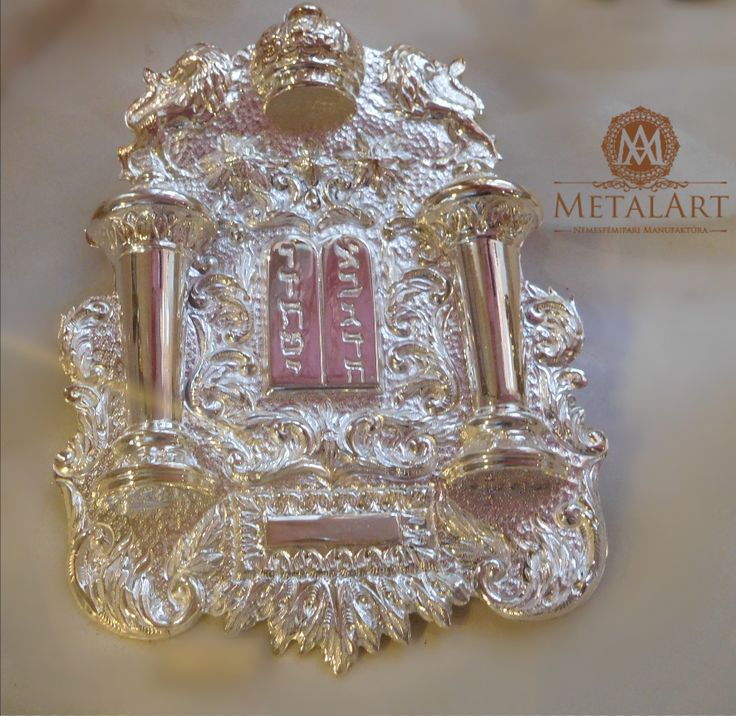 Judaica Torah Breastplate #jewish #judaic #shop   contact us at: metalart@metalart.hu