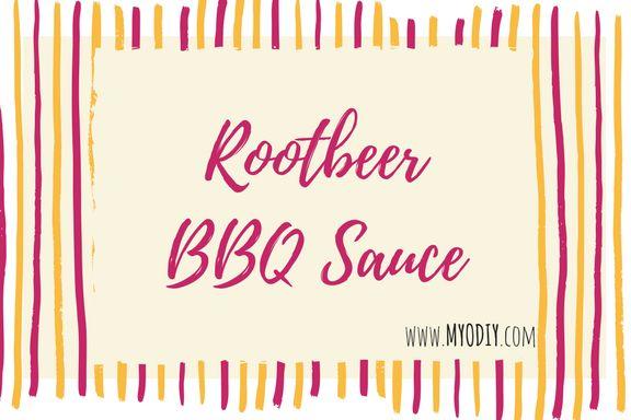 Root Beer BBQ Sauce