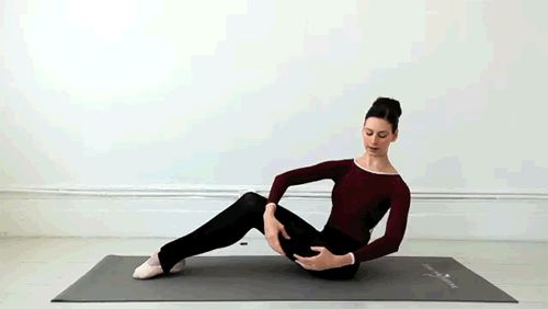 Quest for a Ballet Body: The Ballet Twist... woot - ab work without falling over or getting stuck!