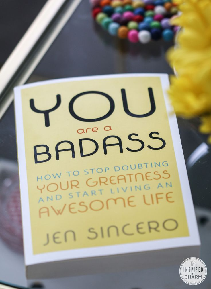 A truly amazing book ... and how I'm using it to change my life: http://www.inspiredbycharm.com/2014/02/52-habits.html