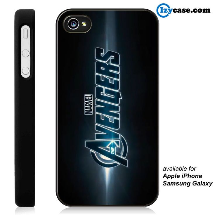 The Avengers Big Logo Phone Case | Apple iPhone 4/4s 5/5s 5c 6 6 Plus Samsung Galaxy S3 S4 S5 S6 S6 Edge Hard Case