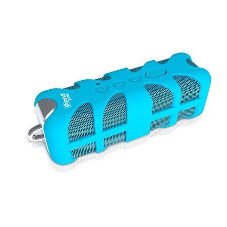 Sound Box Splash Rugged and Splash-Proof BT Marine Grade Portable Cordless Speaker in Blue, Multicolor