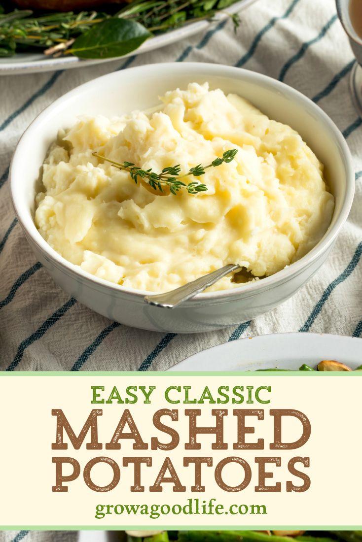 Fluffy Mashed Potatoes Recipe In 2020 Potato Recipes Potatoes Classic Mashed Potatoes