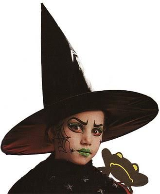 Maquillage pour Halloween : Méchante sorcière brrrrr