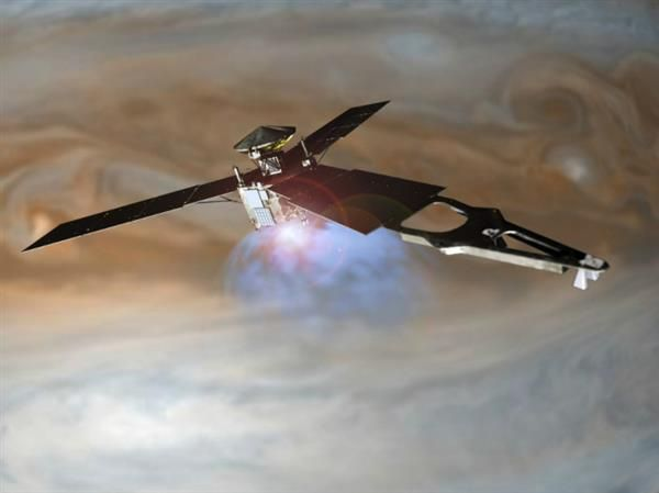 Juno, the first spacecraft to fly 3D printed titanium parts, successfully enters Jupiter's orbit