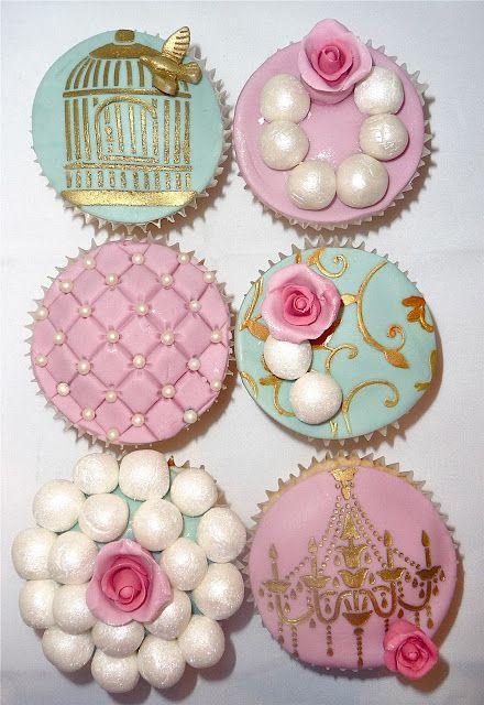 Sweet Cupcakes y Más...  Cursos Cupcakes Barcelona   Cursos Repostería Creativa Barcelona: Vintage