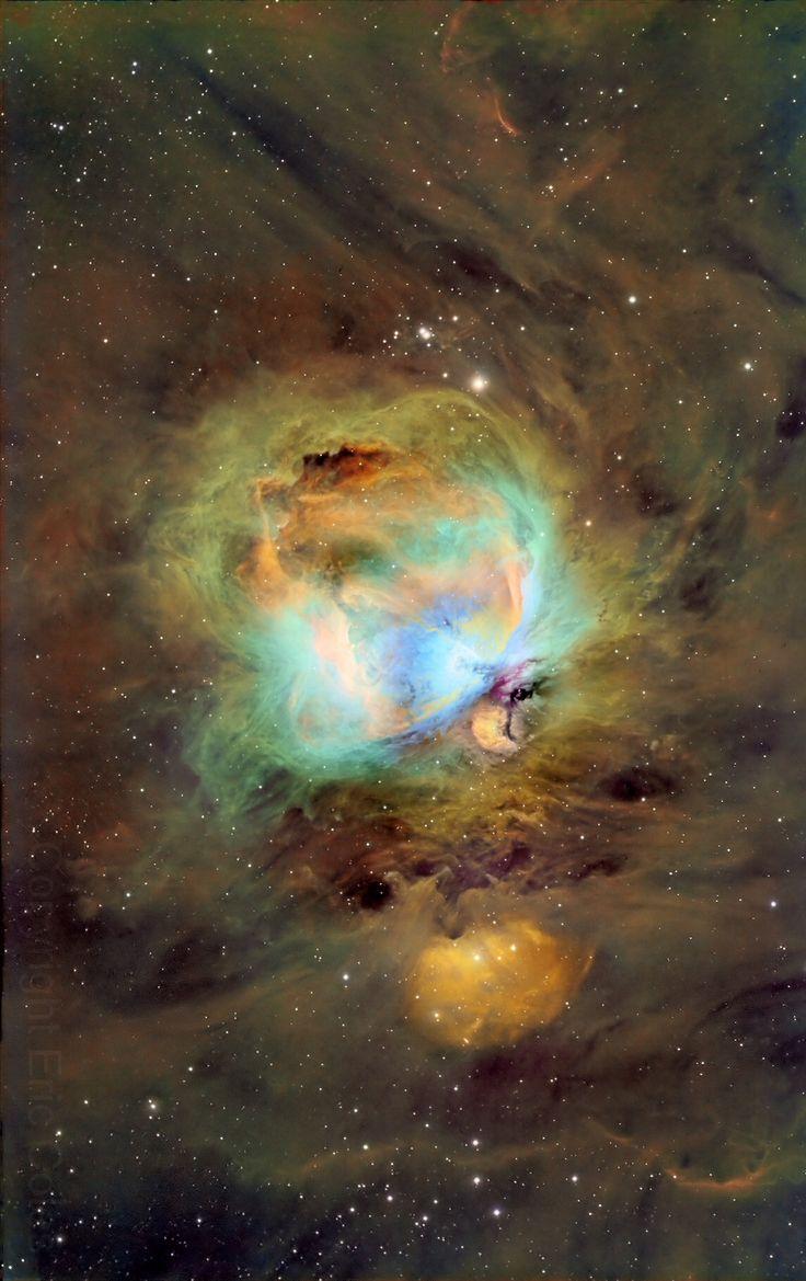 Great Orion Nebula, M42, Hubble Palette Credit: NASA/Hubble, Eric Coles AstroBin