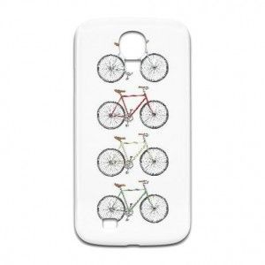 Bikes Bikes Bikes on a Samsung phone case.