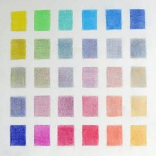 You know the principles about mixing colours - but you'd like more help - preferably in pictures. You want to know a lot more about the full range of colours produced when mixing colours.