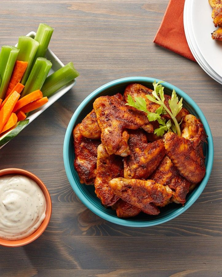 Why order in chicken wings for your Big Game party when you can wow your guests with these? They're easier than you think!