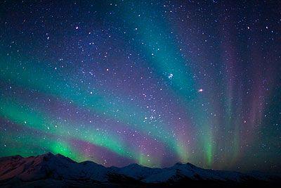 See an aurora borealis in Alaska.