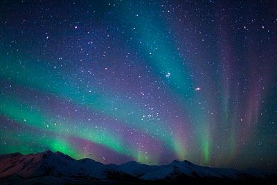Aurora Borealis (Northern Lights) in Alaska