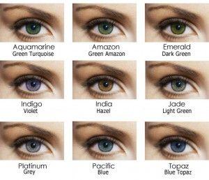 Le lentine colorate su occhi scuri | BELLE con AVON