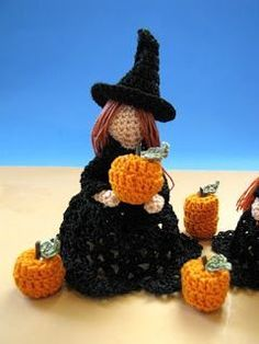BellaCrochet: The Littlest Witches: A Free Crochet Pattern For You