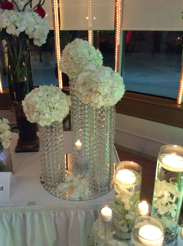 Best chandelier centerpieces images on pinterest