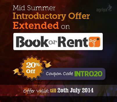 Great news!!! Agriya specially extends its midsummer introductory discounts for BookorRent - An exceptional #Booking and #Rentalsoftware till 20th July 2014 . So hurry up and avail this offer.  To know more about BookorRent: http://www.agriya.com/products/booking-rental-software