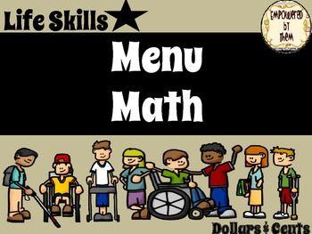 This includes:Burger king Menu + 3 worksheetsChickFilA menu + 3 worksheetsMcD's menu + 2 worksheetsTaco Bell + 4 worksheets