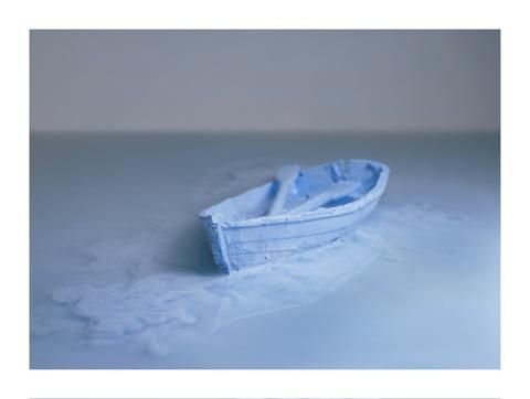 Timothy Silver 'Untitled (Adrift) 1 - 3' - Archival Ink on Archival Wa – Angela Tandori Fine Art