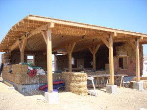 Casa de paja autoconstruccion con paja bioconstruccion - Construccion de casas baratas ...
