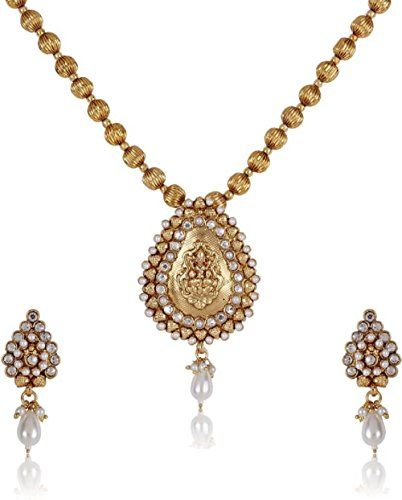 Indian Bollywood Gold Plated Laxmi Style White Stone Wedd... https://www.amazon.com/dp/B01N9ZO1A2/ref=cm_sw_r_pi_dp_x_uieMyb3X1RET1