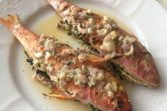 Барабулька с граппой рецепт – средиземноморская кухня: основные блюда. «Афиша-Еда»