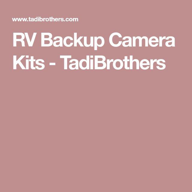 RV Backup Camera Kits - TadiBrothers