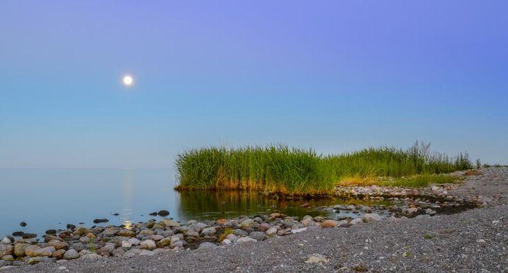 Moonlight over Ljugarn by www.gronlundsperspektiv.se