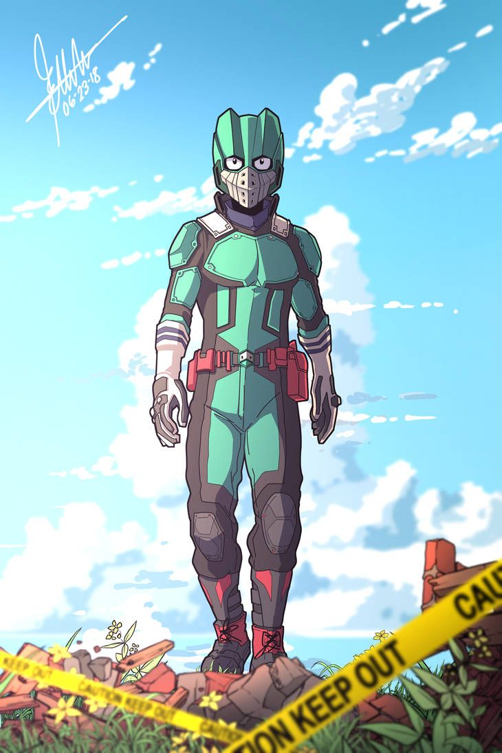 Deku By Ducklordethan On Deviantart With Images Hero Wallpaper