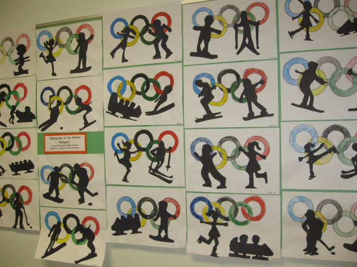 Olympic Silhouettes- gr. 3