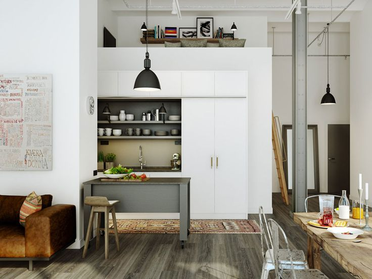 Modern Rustic Kitchen Gray 355 best kitchens images on pinterest | kitchen, home and kitchen