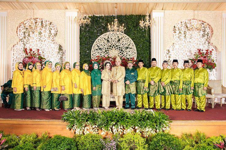 Pesta Pernikahan dengan Perpaduan Adat Jawa dan Melayu -