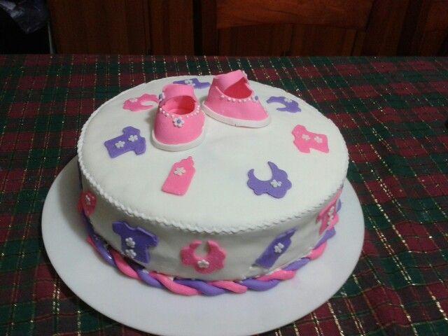 pastel de baby shower para ni a cakes pinterest babies pastel